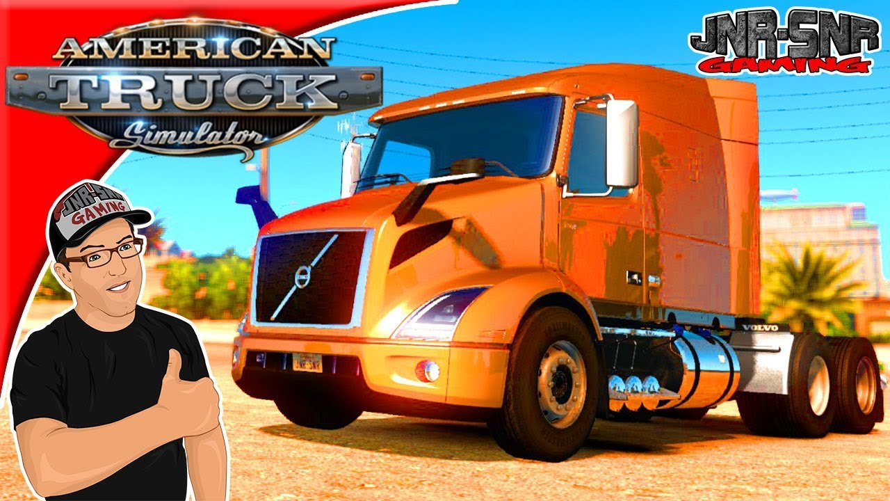 american truck simulator mods volvo vnr 2018 mod review. Black Bedroom Furniture Sets. Home Design Ideas