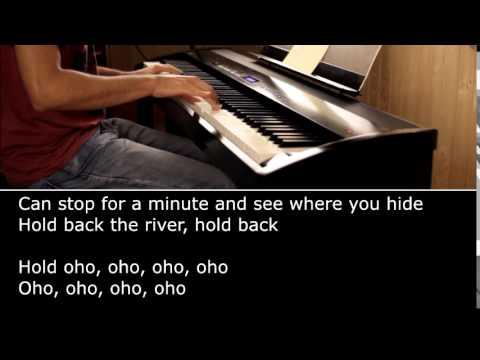 Hold Back The River - James Bay (Piano Karaoke)