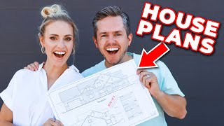 WE HAVE HOUSE PLANS! ? Let's Look! | Ellie and Jared