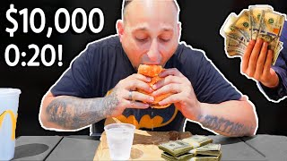Eat The Whopper In 20 Seconds - Win $10,000
