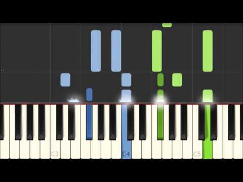 Dixie Land - Daniel Decatur Emmett [Piano Tutorial] (Synthesia)