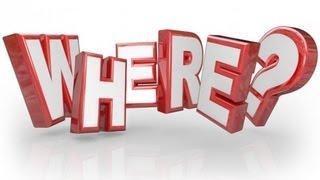 Уроки английского бесплатно онлайн. Что сначала: where или when? Порядок слов