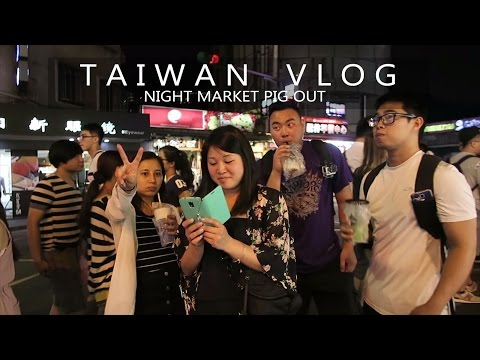 Shilin Night Market Pig Out | TAIPEI CITY, TAIWAN