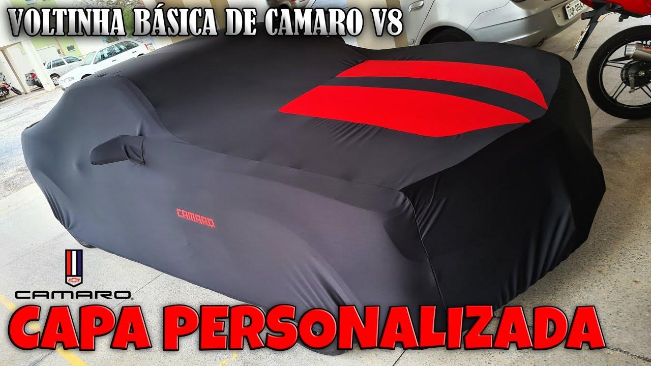 Capa Personalizada e Voltinha de Camaro V8