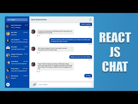 Building a Chat UI with React - Session 6 - Messages and Redux thumbnail