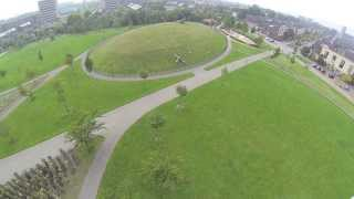 AeroMouts - korte vlucht boven park Hoge Weide Leidsche Rijn
