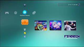 PS3 Softmod OFW 4.82 to backup PS3, PS2, PSX, PSP games to hard drive