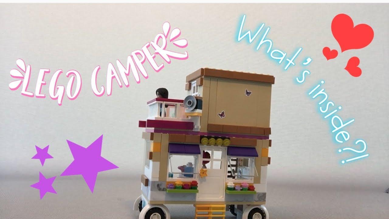 Lego Camper Building Reverse Lego Lego Friends Camper Kitchen