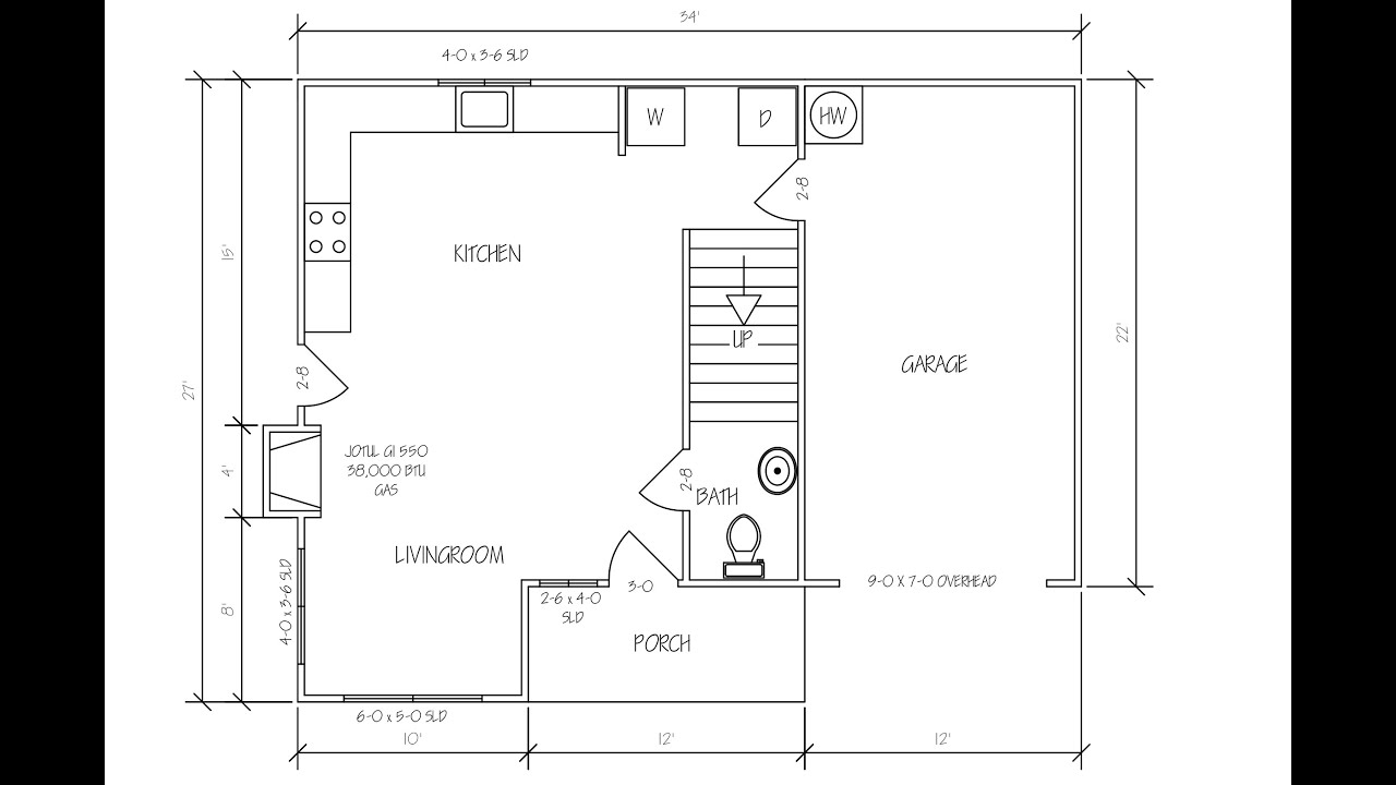 Floor Plan Diagram