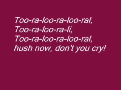 Emmet Cahill - Irish Lullaby ( Lyrics)