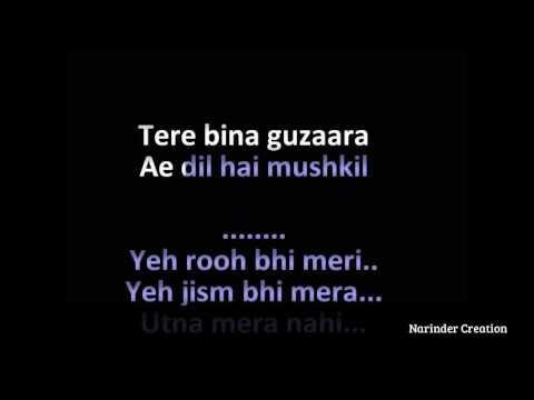 Ae Dil Hai Mushkil Karaoke |ranbir kapoor anushka sharma |Ae Dil Hai Mushkil