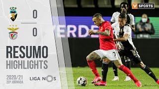 Highlights   Resumo: SC Farense 0-0 Benfica (Liga 20/21 #20)