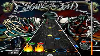 Guitar Flash The Flood - Escape The Fate 100% Expert 39,931