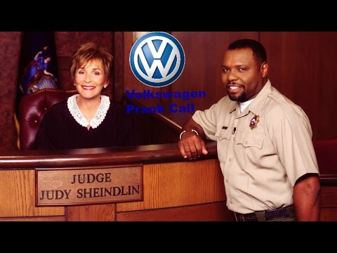 Volkswagen Lies to Judge Judy