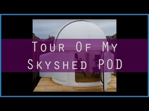 Observatory Tour Of My SkyShed POD
