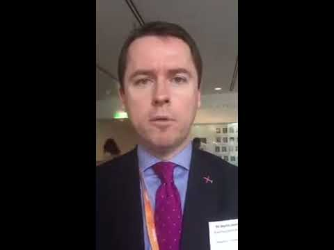 Martin Laverty, Royal Flying Doctor Service CEO at the #alphealthsummit