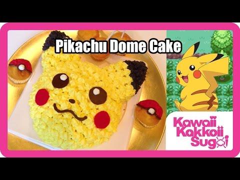 Pikachu Dome Cake