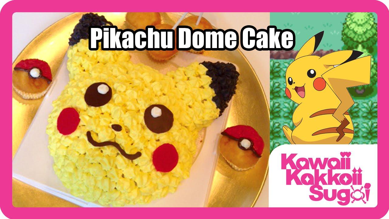How To Make A Dome Sponge Cake