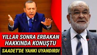 Erdoğan Yıllar Sonra Erbakan Hakkında Konuştu..