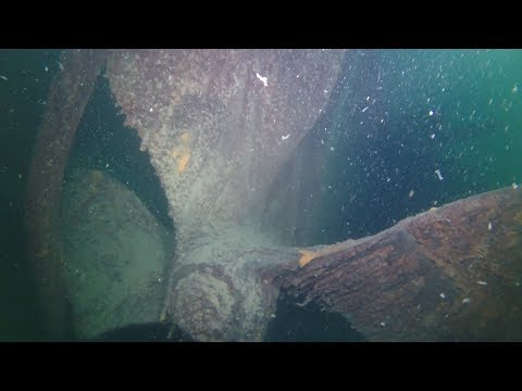 Diving the Chisholm Engine on 9 15 2017 Isle Royale