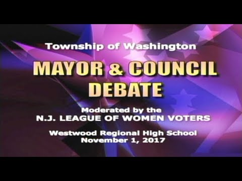 Township of Washington - Mayor & Council Debate 11/01