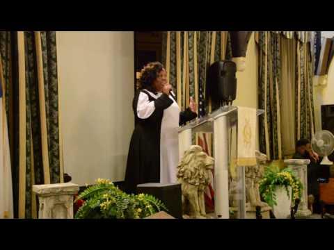 Evangelist Tiffany Woodside - June 2, 2017