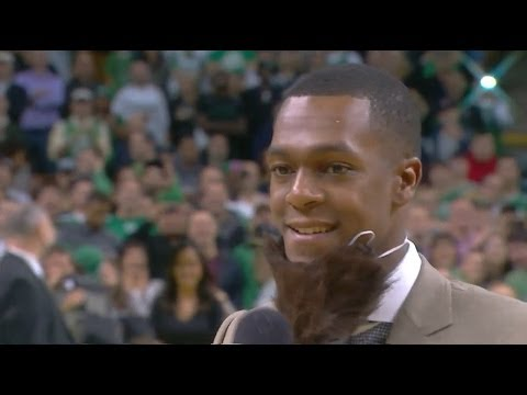 Rajon Rondo opening the first game at TD Garden in 2013/2014 season - [HD]