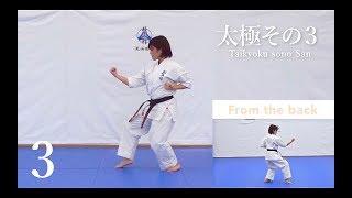 演武者:岡崎紗奈 ( Sana Okazaki ) この動画は自宅や電車の中でも型の...