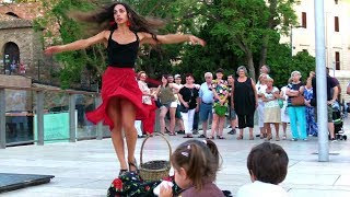 Street Flamenco dance & Funny Kids