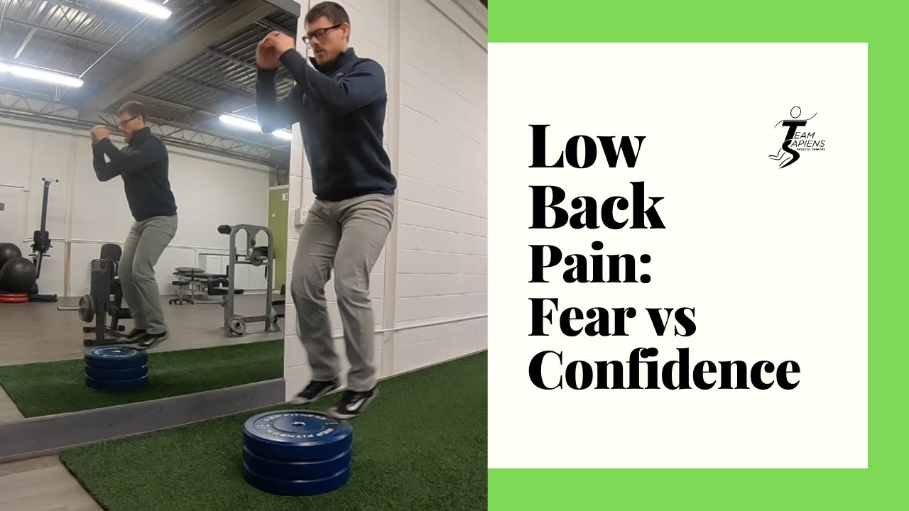 Low back pain, fear of skiing, building confidence