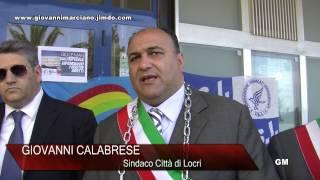 Locri (RC) - La protesta del Sindaco G.Calabrese