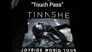 Tinashe Joyride World Tour Touch Pass