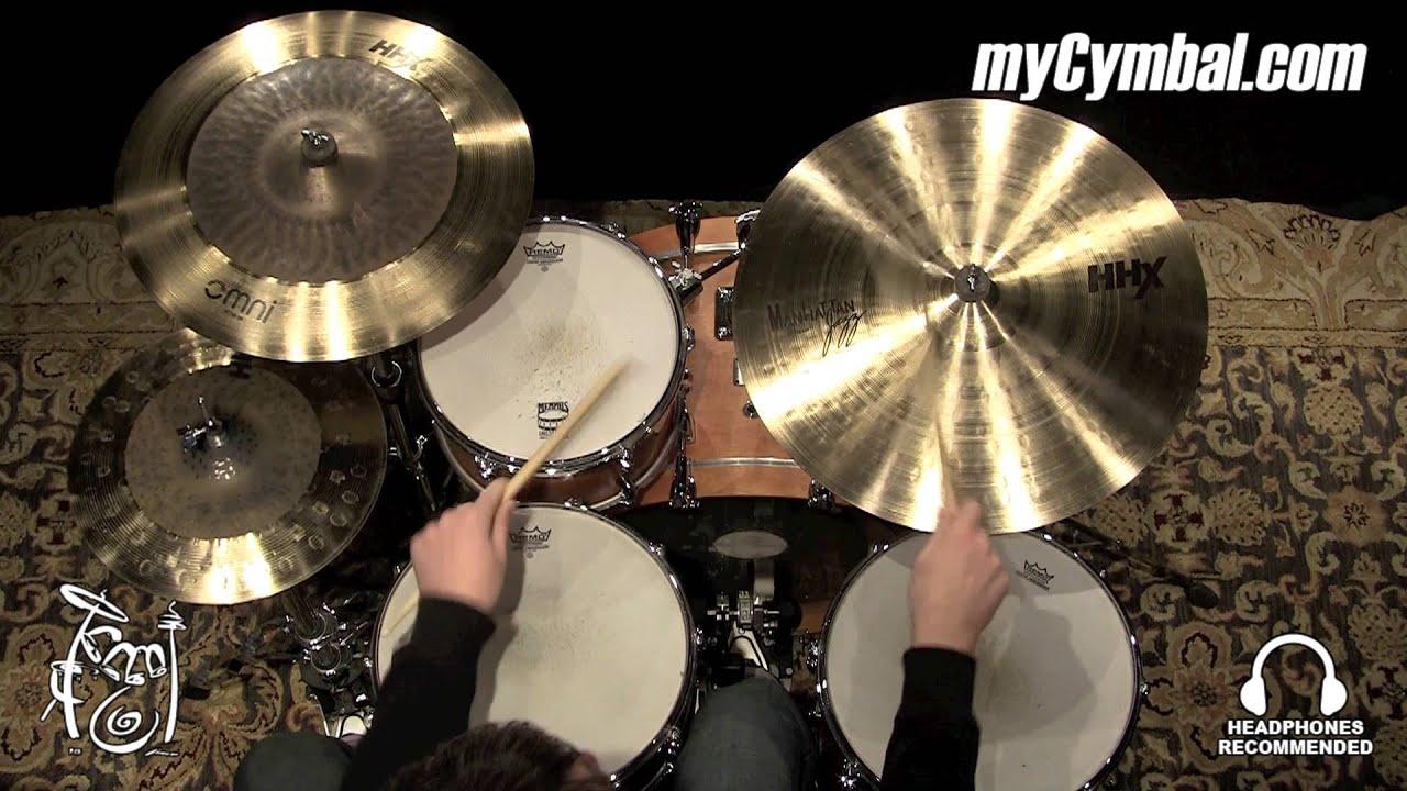 sabian 22 hhx manhattan jazz ride cymbal 12285xn 1123014ddd youtube. Black Bedroom Furniture Sets. Home Design Ideas