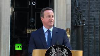David Cameron resigns as British PM in wake of Brexit vote (FULL SPEECH)