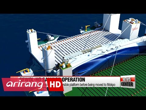 Sewol-ho ferry salvage operation explained