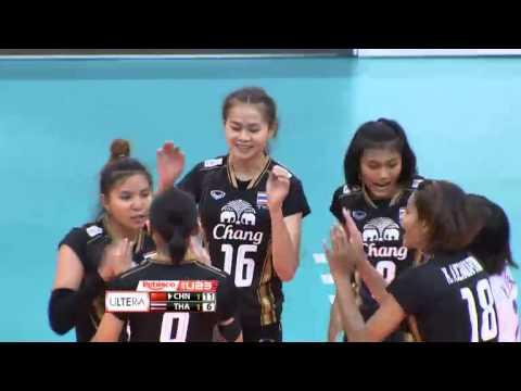 U23: China vs. Thailand Set 3