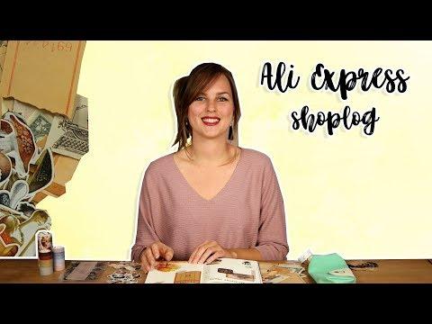 Ali Express Shoplog Stationery - Journal shoplog Nederlands 2018 | CreaChick