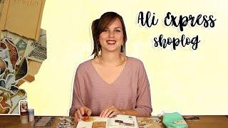 Ali Express Shoplog Stationary - Journal shoplog Nederlands 2018 | CreaChick