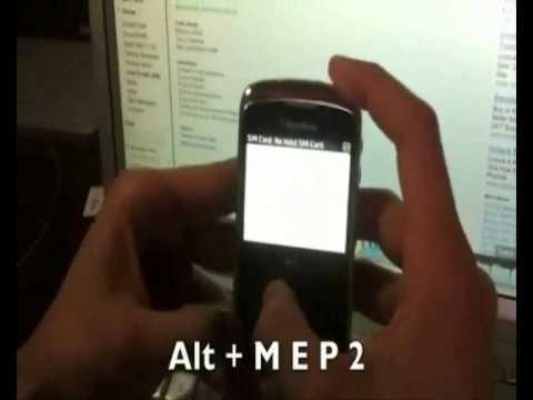 Comment débloquer Blackberry Curve 9360