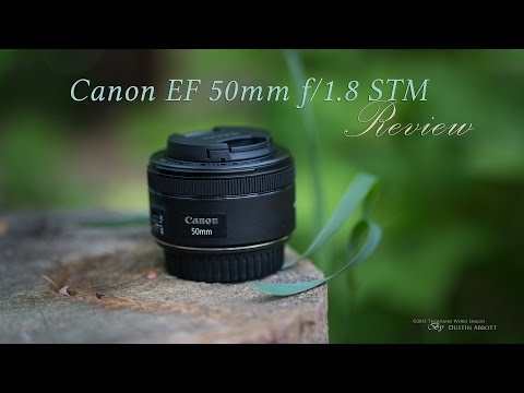 Canon EF 50mm f/1.8 STM Lens Hands-On...