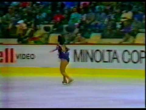 Tiffany Chin (USA) - 1986 World Figure Skating Championships, Ladies' Long Program