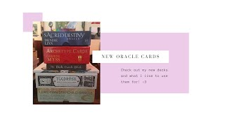 New Oracle Cards!