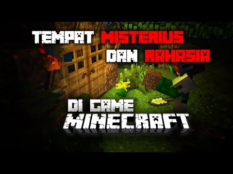 Wow!! Tempat Rahasia & Misterius Di Minecraft!!!