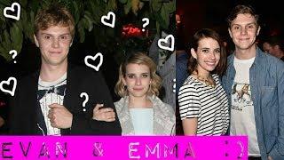Emma Roberts and Evan Peters - Evan Peters Wife | Girlfriend