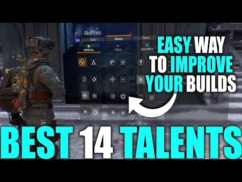 EASY WAY TO IMPROVE YOUR BUILD IN THE DIVISION | BEST 14 TALENTS FOR YOUR BUILDS