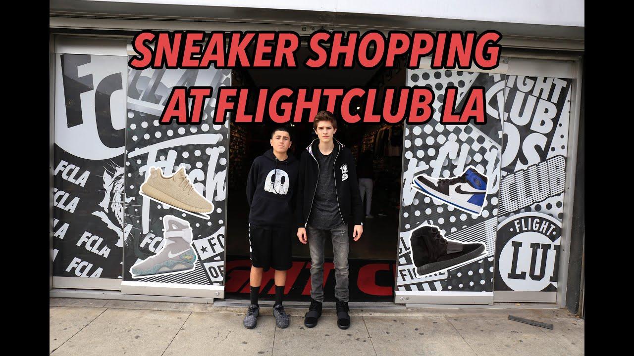 94a93c826516c STORE TOUR OF FLIGHTCLUB LA! - YouTube
