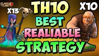 GIANT + WITCH + BOWLERS | GIBOWITCH | Th10 BEST GUARANTEED 3 STARS STRATEGY | Clash Of Clans