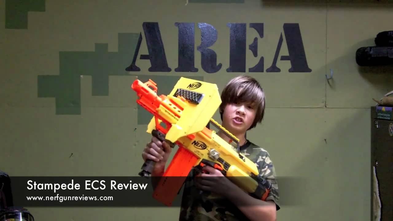 Nerf N Strike Stampede Ecs Review Nerf 9 9 10 Unleashed