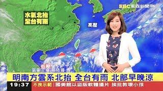 2017-05-27 東森新聞台 蔡依臻 1800晚間新聞 氣象播報 HD