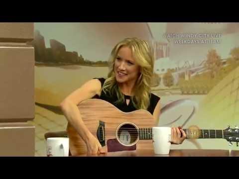 Jessy Schram singing on Windy City Live